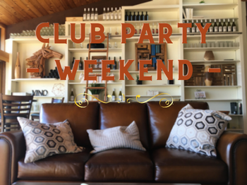 Saturday March 20th Club Party 4:00pm - 6:00pm